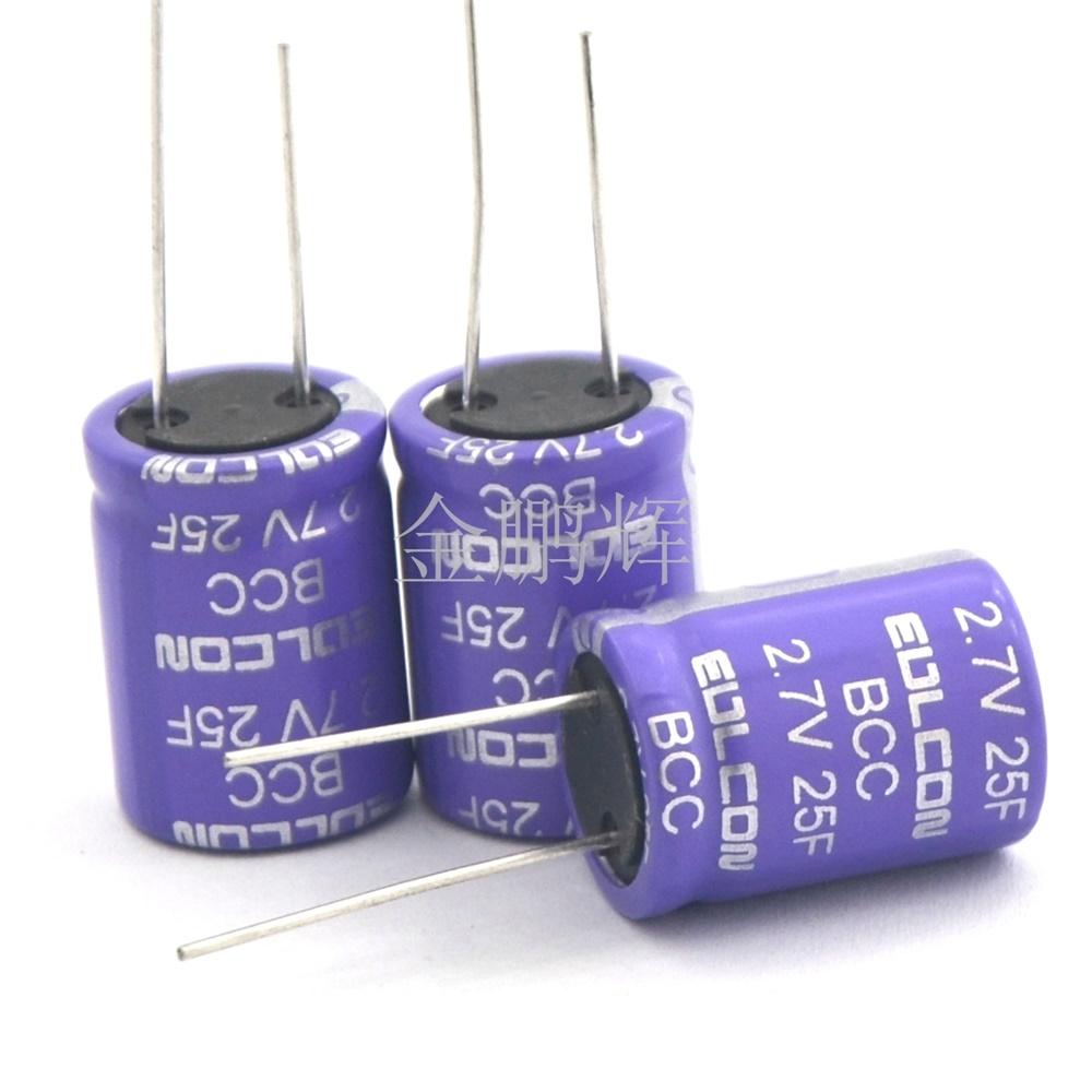 EDLCON超级电容器高容量BCC规格书,法拉电容规格选