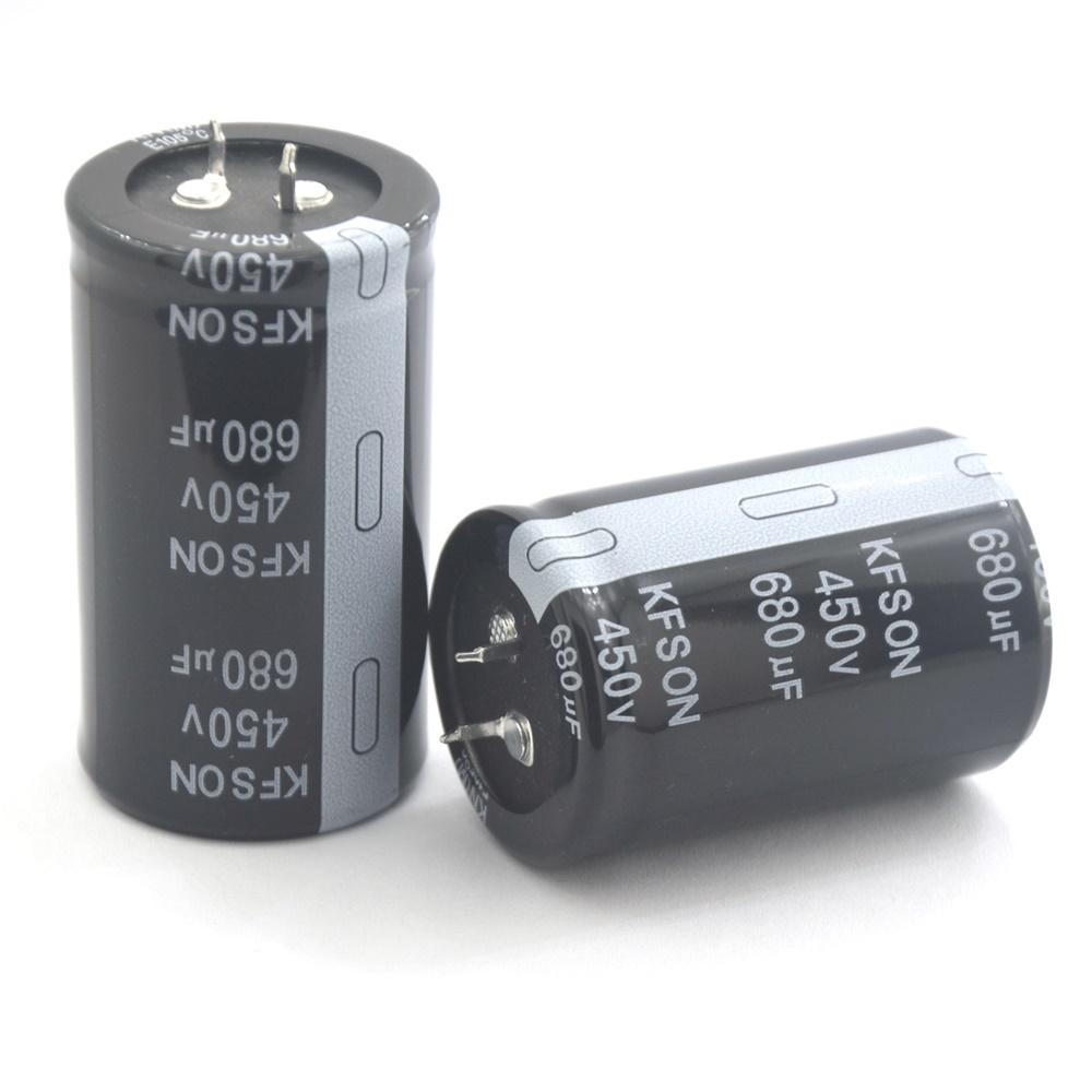 450v680uf电解电容器KFSON品牌多种尺寸可以选择