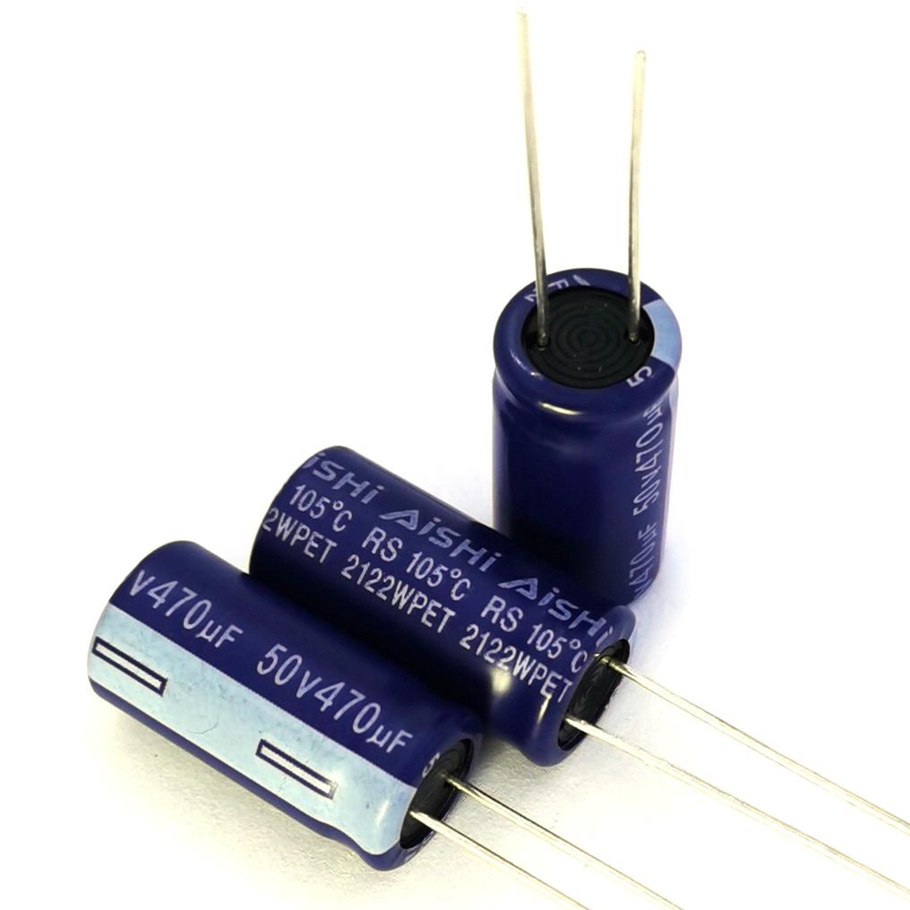 艾华电解电容器RS系列AISHI长寿命电容规格书下载